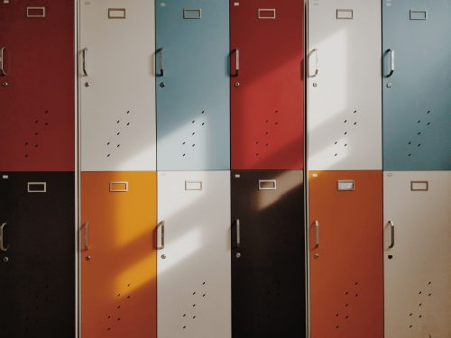 Picture of lockers