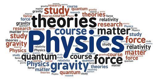 physics word cloud