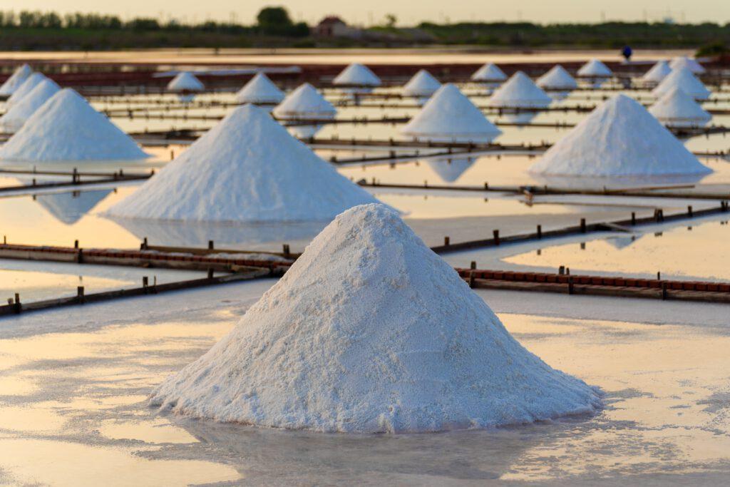 Salt mines